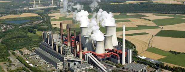 Kraftwerk von oben